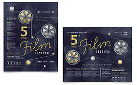 Film Festival - Poster Sample Template