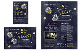 Film Festival - Flyer & Ad Template