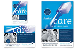 Dentist Office - Flyer & Ad Template Design Sample