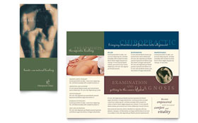 Chiropractor - Business Marketing Brochure Template