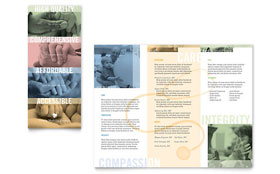 Family Doctor - Brochure Template Design Sample