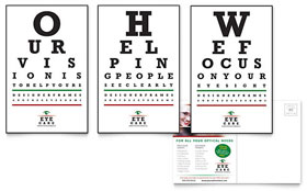 Optometrist & Optician - Postcard Template
