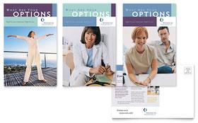 Medical Insurance Company - Postcard Template