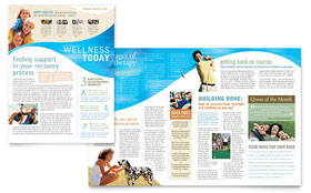 Physical Therapist - Newsletter Sample Template