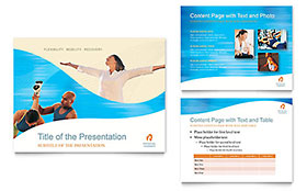Physical Therapist - PowerPoint Presentation Template