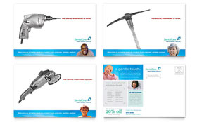 Dental Care - Postcard Sample Template