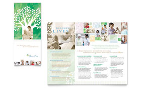 Elder Care & Nursing Home - Brochure