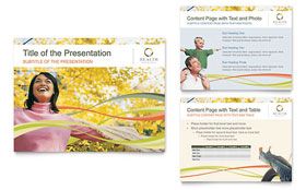 Health Insurance Company - PowerPoint Presentation Template