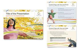 Health Insurance Company - PowerPoint Presentation Template