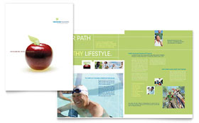 Healthcare Management - Desktop Publishing Brochure Template