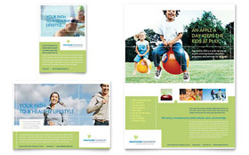 Healthcare Management - Flyer & Ad Template Design Sample