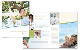 Medical Clinic - Brochure Template