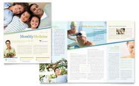 Family Physician - Newsletter Sample Template