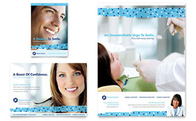 Dentistry & Dental Office - Flyer & Ad Template