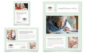 Senior Care Services - Print Ad