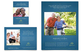 Senior Living Community - Flyer & Ad Template