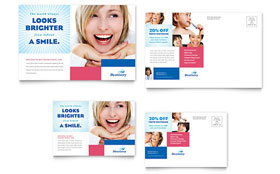 Family Dentistry - Postcard Template
