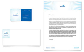 Family Dentistry - Business Card & Letterhead Template