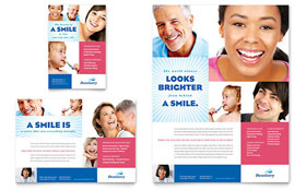 Family Dentistry - Print Ad Template