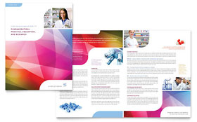 Pharmacy School - Brochure Template