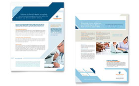 Medical Transcription - Datasheet Template Design Sample