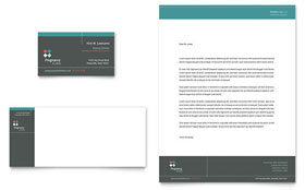 Pregnancy Clinic - Business Card & Letterhead Template