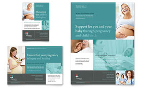 Pregnancy Clinic - Flyer & Ad Template