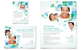 Orthodontist - Flyer & Ad Template