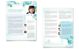Orthodontist - Datasheet Sample Template