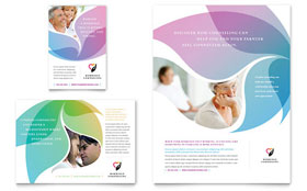 Marriage Counseling - Flyer & Ad Template Design Sample