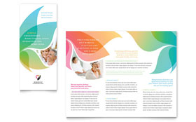 Marriage Counseling - Adobe Illustrator Tri Fold Brochure Template