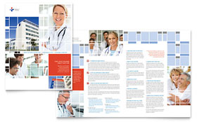 Hospital - Brochure Template Design Sample
