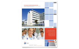 Hospital - Flyer Template