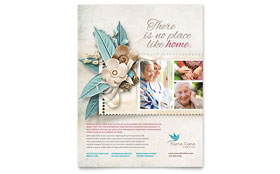 Hospice & Home Care - Flyer