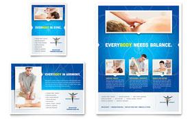 Reflexology & Massage - Flyer & Ad Template