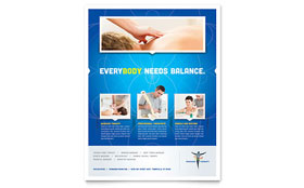 Reflexology & Massage - Leaflet