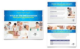 Reflexology & Massage - PowerPoint Presentation Sample Template