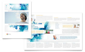 Behavioral Counseling - Pamphlet Template Design Sample