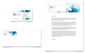 Behavioral Counseling - Business Card & Letterhead Template Design Sample