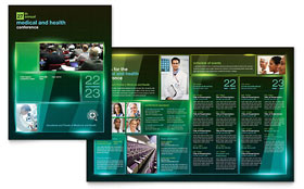 Medical Conference - Microsoft Word Brochure Template