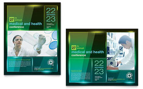 Medical Conference - Poster Sample Template