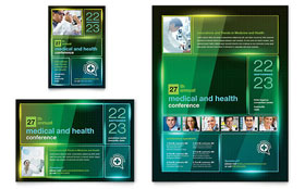Medical Conference - Flyer & Ad Template