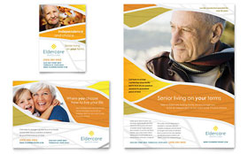 Assisted Living - Flyer & Ad Template