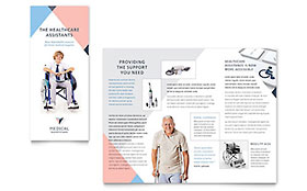 Home Medical Equipment - Microsoft Publisher Brochure Template
