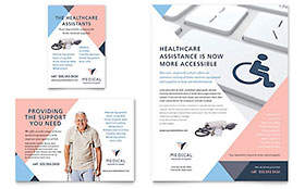 Home Medical Equipment Flyer & Ad