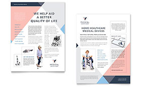 Home Medical Equipment - Datasheet Template