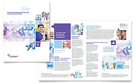 Cancer Treatment - Brochure Sample Template