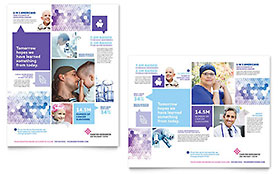 Cancer Treatment - Poster Sample Template