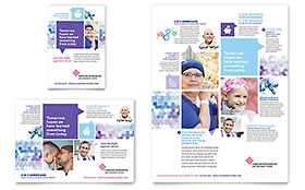 Cancer Treatment - Print Ad Sample Template