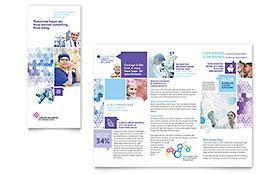 Cancer Treatment - Tri Fold Brochure Template